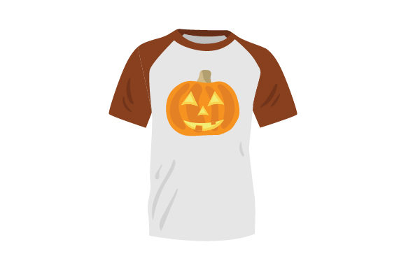 Download Free T Shirt Mockup With Jack O Lantern Svg Cut File By Creative SVG Cut Files