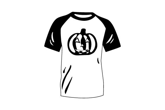 Download Free T Shirt Mockup With Jack O Lantern Svg Cut File By Creative for Cricut Explore, Silhouette and other cutting machines.