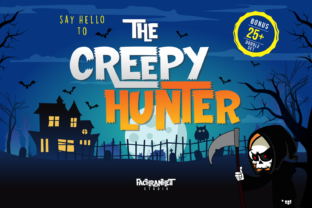 The Creepy Hunter Font By fachranheit