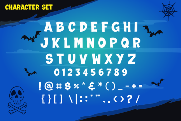 Print on Demand: The Creepy Hunter Display Font By fachranheit - Image 10