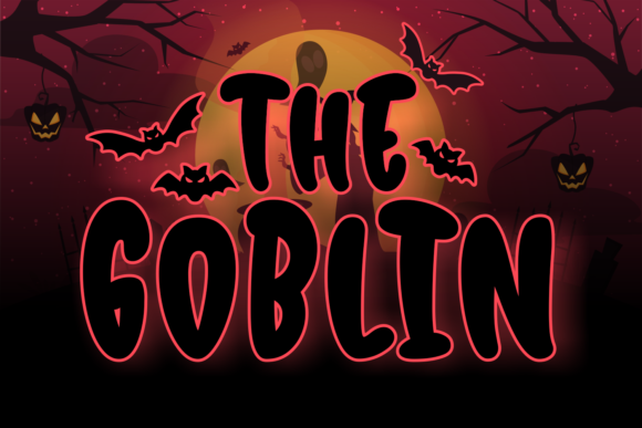 Print on Demand: The Goblin Script & Handwritten Font By Kelik - 7NTypes