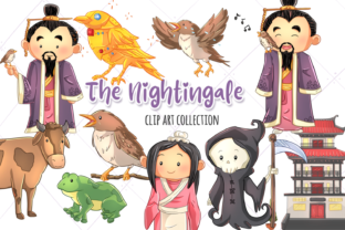 The Nightingale Clip Art Collection Graphic By Keepinitkawaiidesign