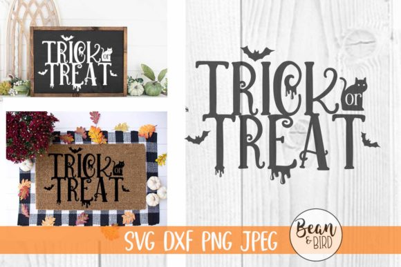 Print on Demand: Trick or Treat Graphic Crafts By Bean and  Bird