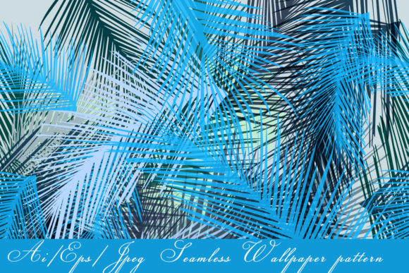 Tropical Vector Seamless Pattern Graphic Patterns By fleurartmariia