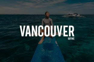 Vancouver Font By Webhance