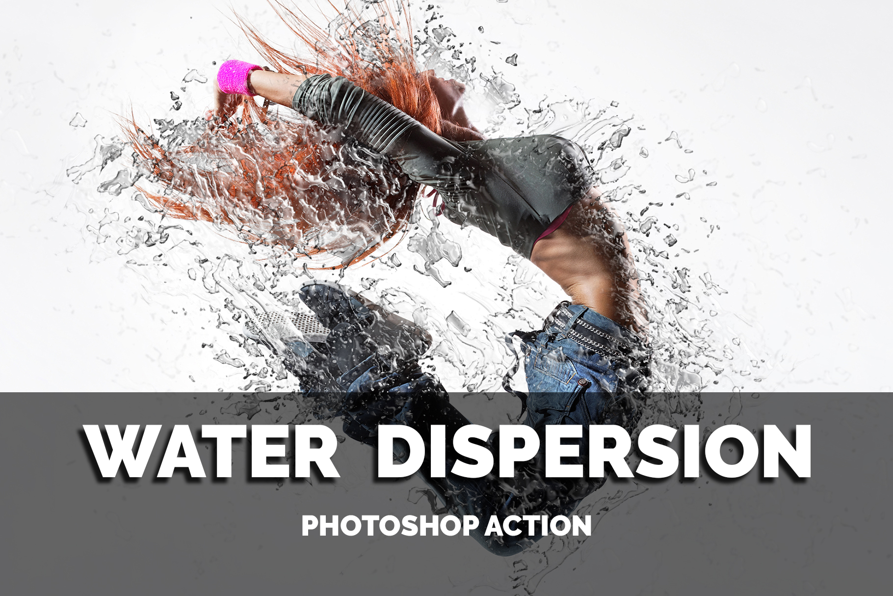 Download Free Water Dispersion Photoshop Action Graphic By Jubair Haider for Cricut Explore, Silhouette and other cutting machines.