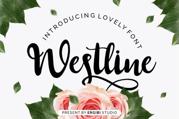 Print on Demand: Westline Script & Handwritten Font By ergibi studio