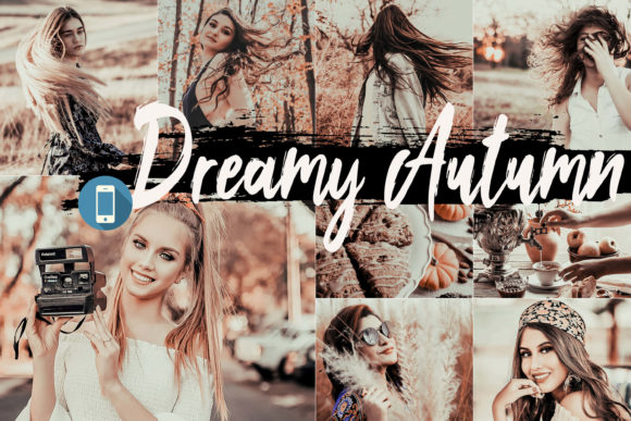 5 Dreamy Autumn Mobile Lightroom Presets Graphic By 3Motional