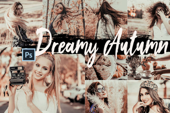 Download Free 5 Dreamy Autumn Photoshop Actions Graphic By 3motional for Cricut Explore, Silhouette and other cutting machines.