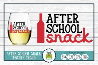 After School Snack Teacher Graphic By funkyfrogcreativedesigns