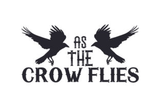 As the Crow Flies Craft Design By Creative Fabrica Crafts