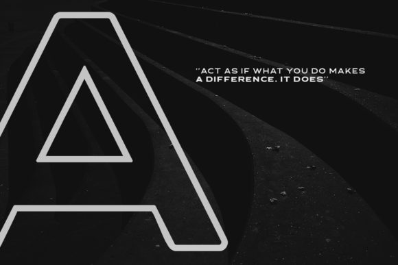 Asterone Font By letterhend Image 2