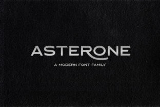 Asterone Font By letterhend