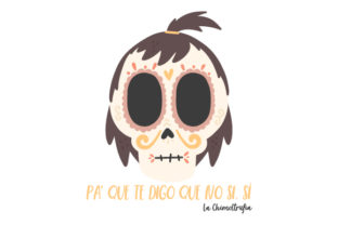 Calavera La Chimoltrufía Craft Design By Creative Fabrica Crafts