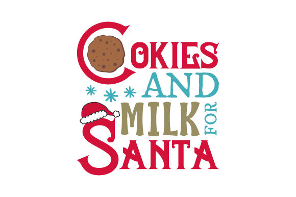Cookies and Milk for Santa Craft Design By Creative Fabrica Crafts