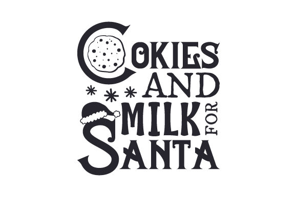 Cookies and Milk for Santa Christmas Craft Cut File By Creative Fabrica Crafts - Image 2