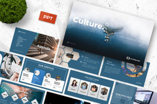 Culture - Business Powerpoint Template Graphic By MadeDesain