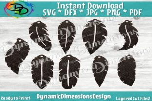 DIY Earrings Svg File Graphic By dynamicdimensions
