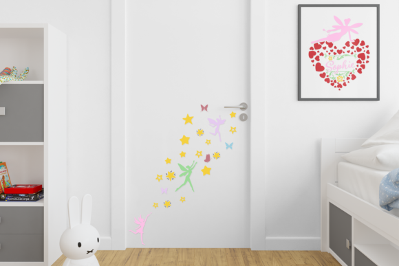 Print on Demand: Fairies Shapes & Compositions SVG Bundle Graphic Crafts By Anastasia Feya - Image 3
