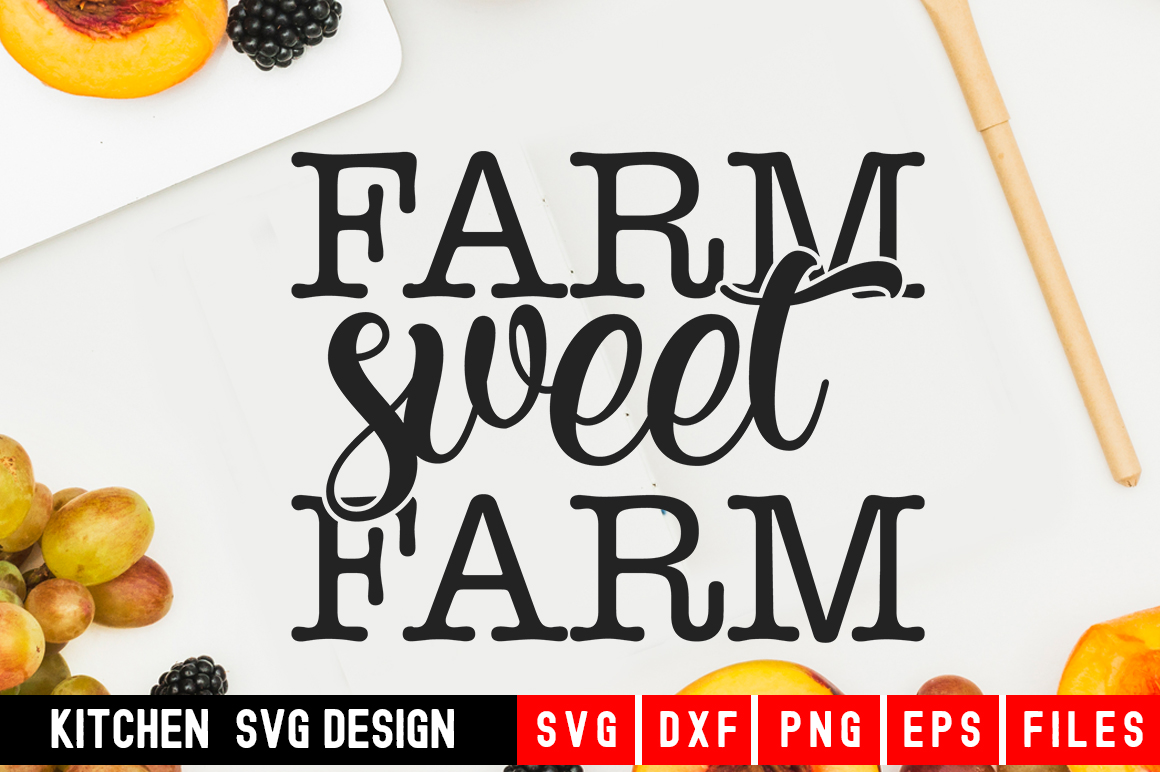 Download Free Fram Sweet Fram Graphic By Designdealy Com Creative Fabrica for Cricut Explore, Silhouette and other cutting machines.