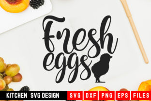 Print on Demand: Fresh Eggs Graphic Crafts By Designdealy