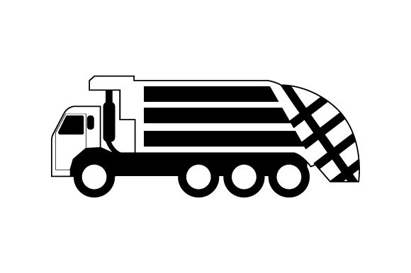 Download Free Garbage Truck Svg Cut File By Creative Fabrica Crafts Creative Fabrica for Cricut Explore, Silhouette and other cutting machines.