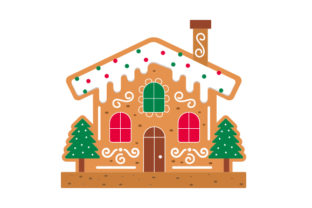 Gingerbread House Craft Design By Creative Fabrica Crafts