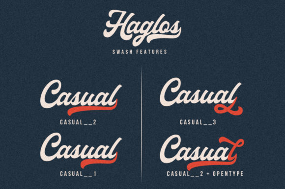 Haglos Font By vultype Image 6