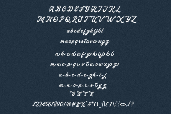 Haglos Font By vultype Image 8
