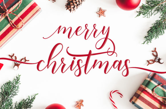 Happy Christmas Script Font By Amarlettering Image 6