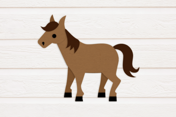 Horse with Saddle Graphic By RisaRocksIt Image 2