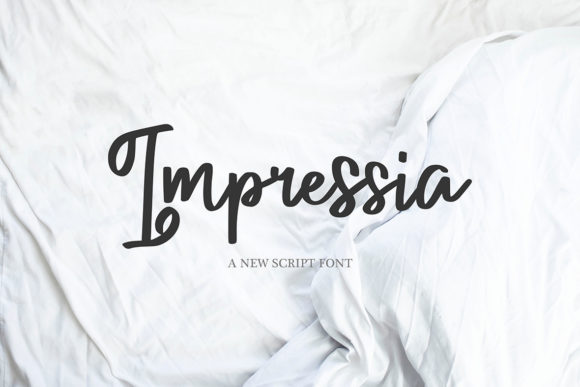Print on Demand: Impressia Script & Handwritten Font By Masha Artifex