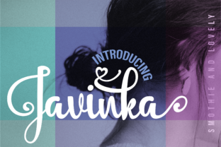 Download Free Javinka Font By Guliostudio Creative Fabrica for Cricut Explore, Silhouette and other cutting machines.