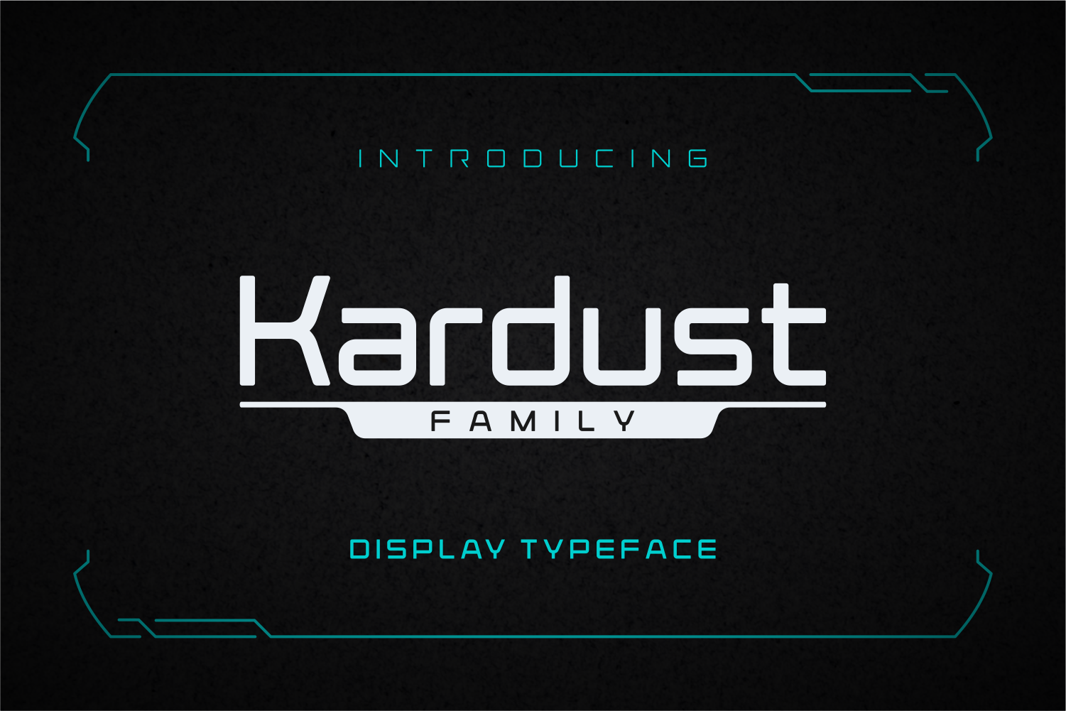 Download Free Kardust Family Font By Anthonie Van Hayu Creative Fabrica for Cricut Explore, Silhouette and other cutting machines.