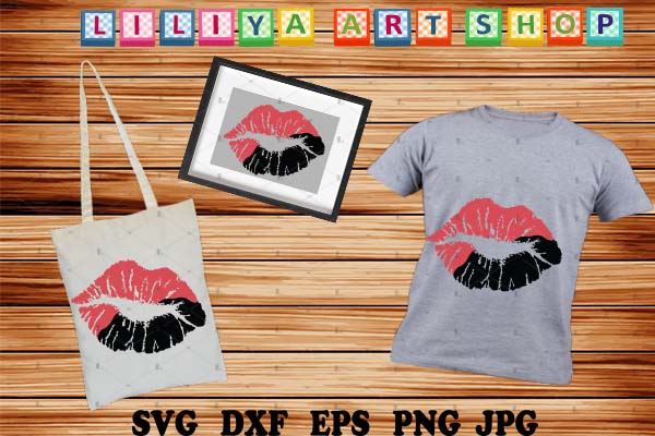Download Free Lips Graphic By Liliyaartshop Creative Fabrica for Cricut Explore, Silhouette and other cutting machines.