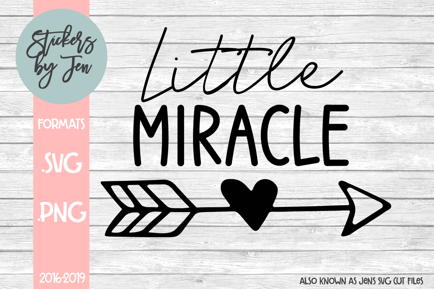 Download Free Little Miracle Graphic By Stickers By Jennifer Creative Fabrica for Cricut Explore, Silhouette and other cutting machines.