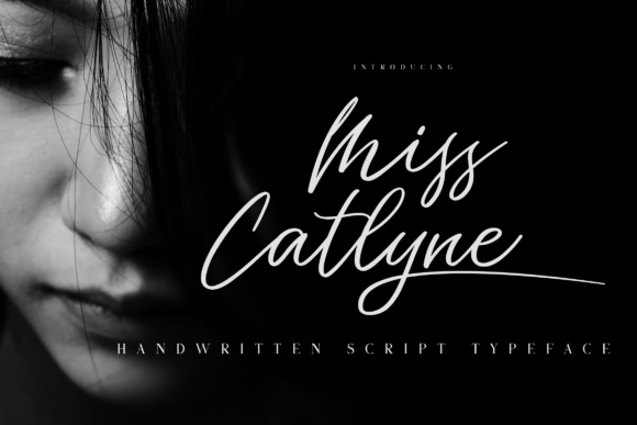 Print on Demand: Miss Catlyne Script & Handwritten Font By Bluestudio
