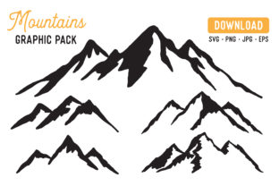 Mountain Vector Graphic By The Gradient Fox