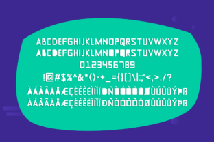 Print on Demand: New Year Display Font By Instagram Fonts 3