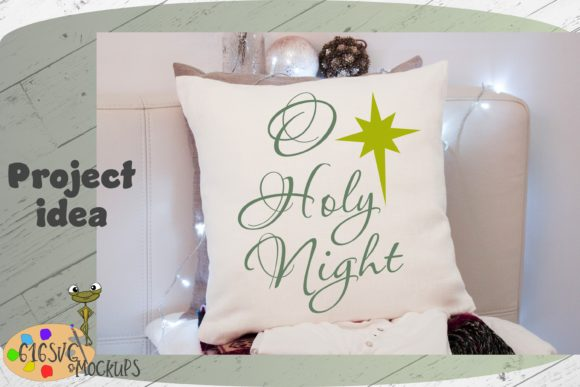 O Holy Night Graphic By 616SVG