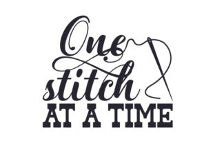 One Stitch at a Time Craft Design By Creative Fabrica Crafts