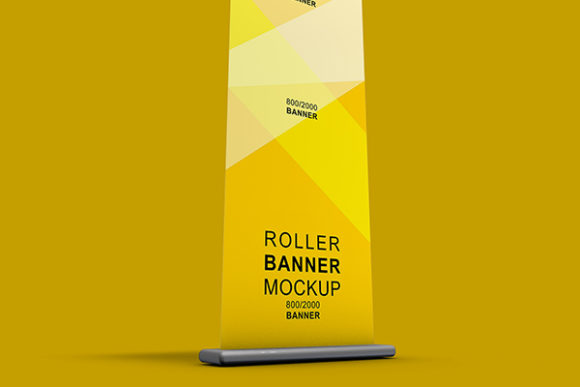 Print on Demand: Rollup Banner Mockup Template Graphic Product Mockups By PatternHousePk