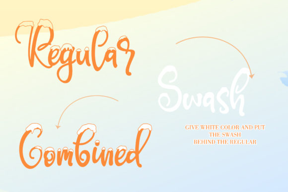 Print on Demand: Snowby Display Font By thomasaradea - Image 8
