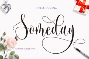 Someday Font By Byuly Ayika