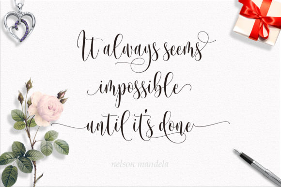 Print on Demand: Someday Script & Handwritten Font By Byuly Ayika - Image 9