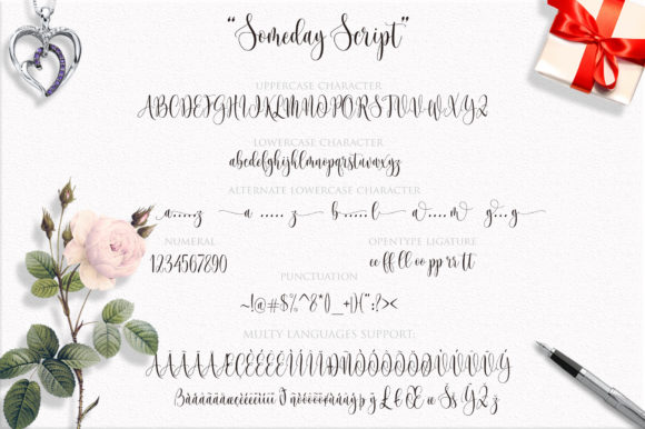 Print on Demand: Someday Script & Handwritten Font By Byuly Ayika - Image 10