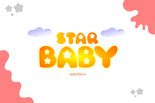 Star Baby Font By Bangrusd