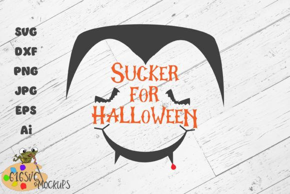 Sucker for Halloween Graphic By 616SVG