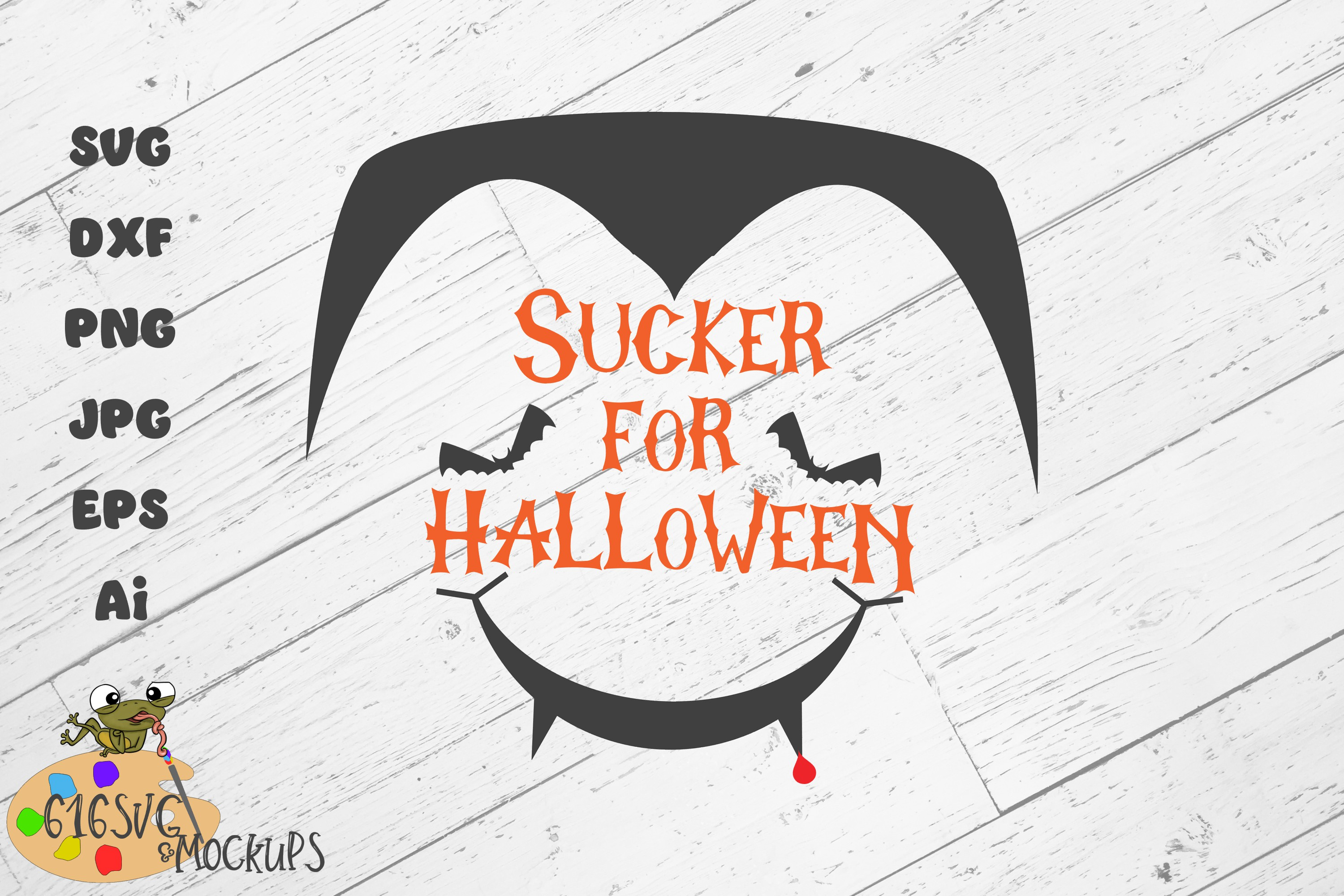 Download Free Sucker For Halloween Graphic By 616svg Creative Fabrica for Cricut Explore, Silhouette and other cutting machines.