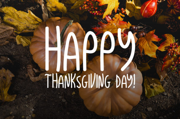 Print on Demand: Thanksgiving Display Font By Instagram Fonts - Image 3